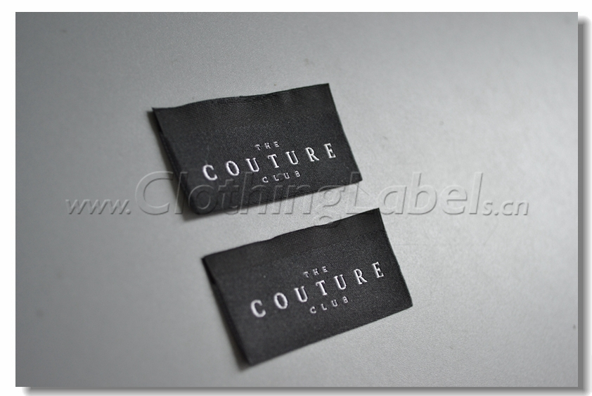 Aliexpress.com : Buy Custom damask woven labels for clothing ...