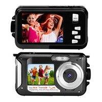 Free Ship 2017 High Quality Cheap Digital Camera 24mp 16X Zoom Mini HD Digital Video Camera