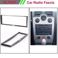 Car Auto DVD CD Radio Facia Frame For RENAULT Clio 2005 2012 Modus Megane Scenic Stereo