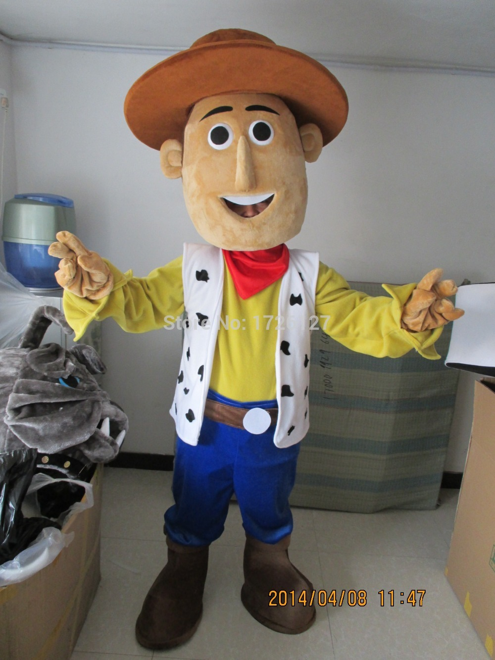 mascot woody cow boy mascot toy costume custom fancy costume anime cosplay kit mascotte theme fancy dress carnival costume