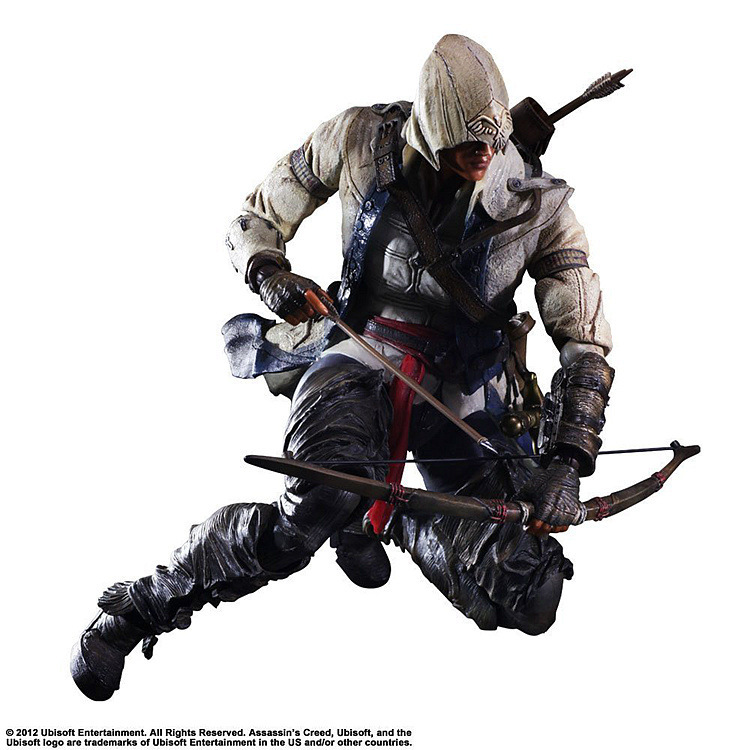 SAINTGI PLAY ARTS Assassins Creed 4 3 Black Flag Edward James Kenway Anime Game Figurine PVC Action Figure Model Toy 27cm bela 10424 890pcs city police station building blocks action figures set helicopter jail cell compatible