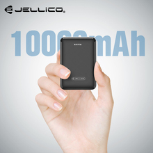 цены на Jellico Mini Power Bank Dual USB 10000mAh Mobile Phone External Battery For iPhone X Portable Charger Mini PowerBank For Samsung  в интернет-магазинах