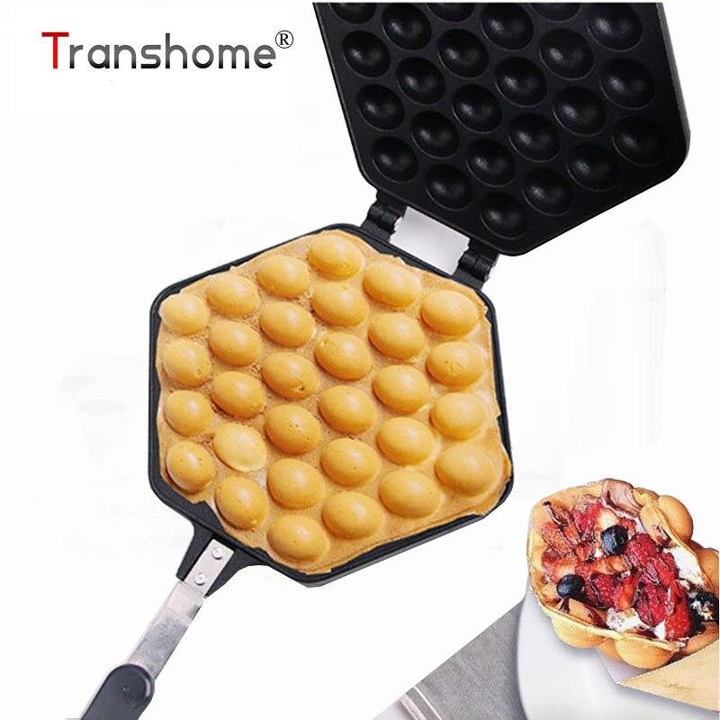 Transhome 1Pcs Household Eggs Aberdeen Mold Baking Dish Waffle Mold Maker <font><b>Bakeware</b></font> Baking Pastry Tools Kitchen Gadgets