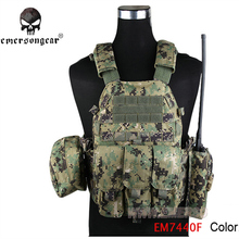 EMERSON GEAR LBT6094A Style Vest with Pouches Airsoft Painball Military Army Combat Gear EM7440F AOR2