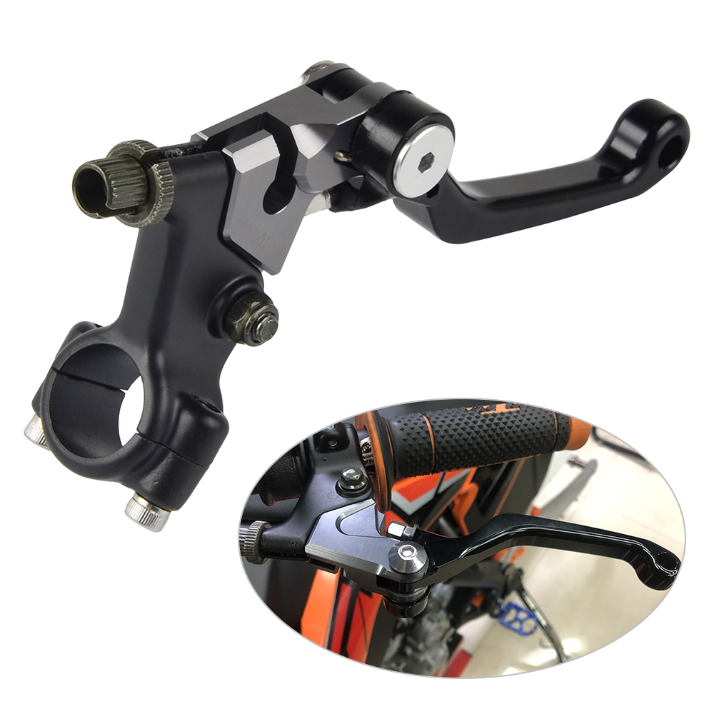 CNC Shorty Clutch Lever For <font><b>Yamaha</b></font> DT IT MX 100 125 175 <font><b>XT</b></font> 125 200 250 <font><b>500</b></font> YZ50 60 80 250 360 400 490 RT-1 2 3 YZ125 image