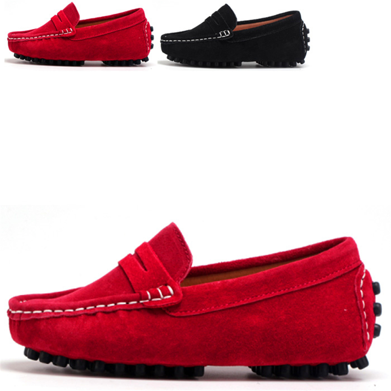 Image 5 - Size 27 39 Really skin Children Boys Girl Baby Shoes Slip on Loafers Flats Spring And Autumn Fashion Boys Sneakers for Big KidsSneakers   -