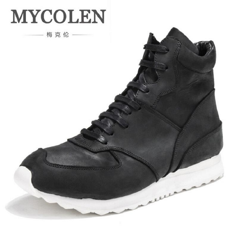 MYCOLEN Quality Men Shoes High Top Men'S Casual Shoes Breathable Man Lace Up Brand Shoes Height Increasing Thick Bottom Footwear gram epos men casual shoes top quality men high top shoes fashion breathable hip hop shoes men red black white chaussure hommre
