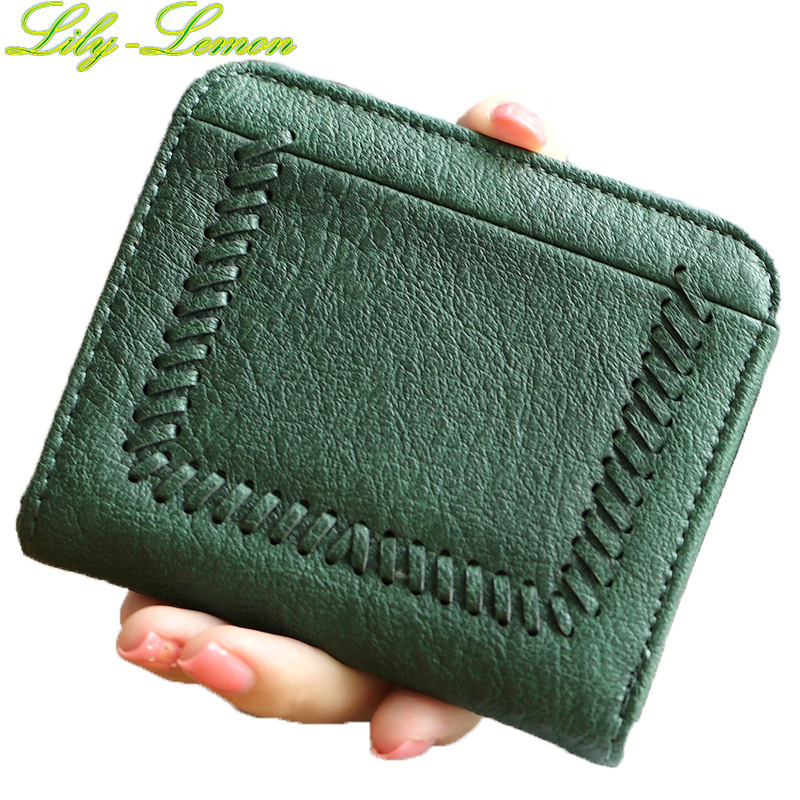 Women Cute Weave Short Wallets Brand Designer Leather Ladies England Style Mini Wallets Girls Kids Coin Purse Card Holder W013 high quality leather cute women s wallets coin purse leather short women leather wallets girls best gift free shipping