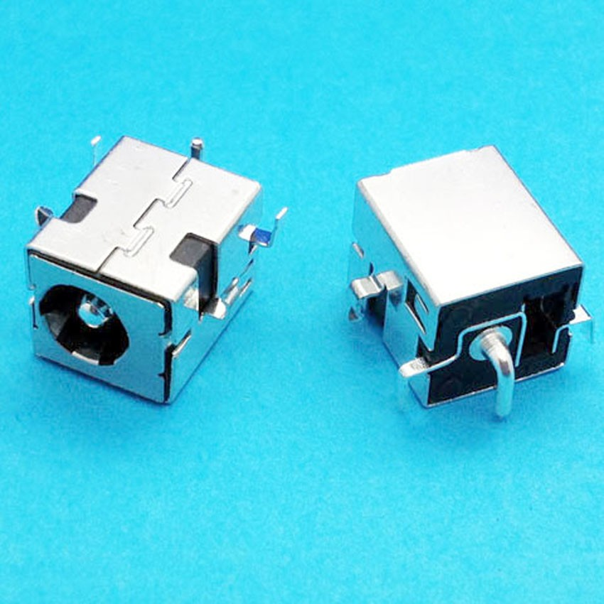20pcs 2.5mm pin DC Power Jack Connector Plug Socket For Asus A52 A53 K52 K53 U52 X52 X54 X54C U52F Series 20pcs 5 5mm x 2 1mm round dc socket panel mounting power adapter dc power jack socket connector plug receptacle plastic