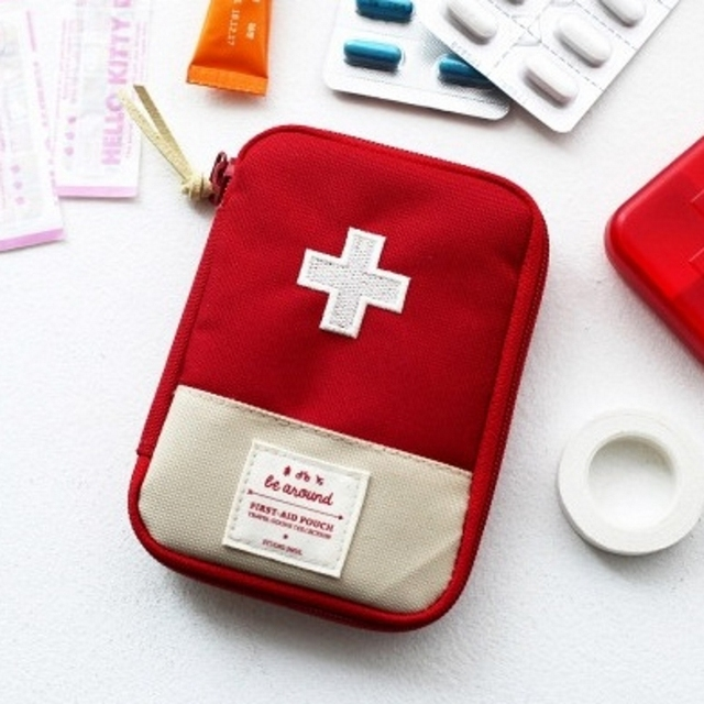 1 Piece Two size Portable Outdoor Camping Home First Aid Bag Emergency Medical Kit Survival Bag Hunt Travel Bag Medicine Chest