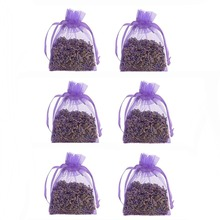 6 pcs Natural Vegetable Grease Resistant Mildew Odor desiccant sachets natural aromatherapy sachets car Air Refreshing