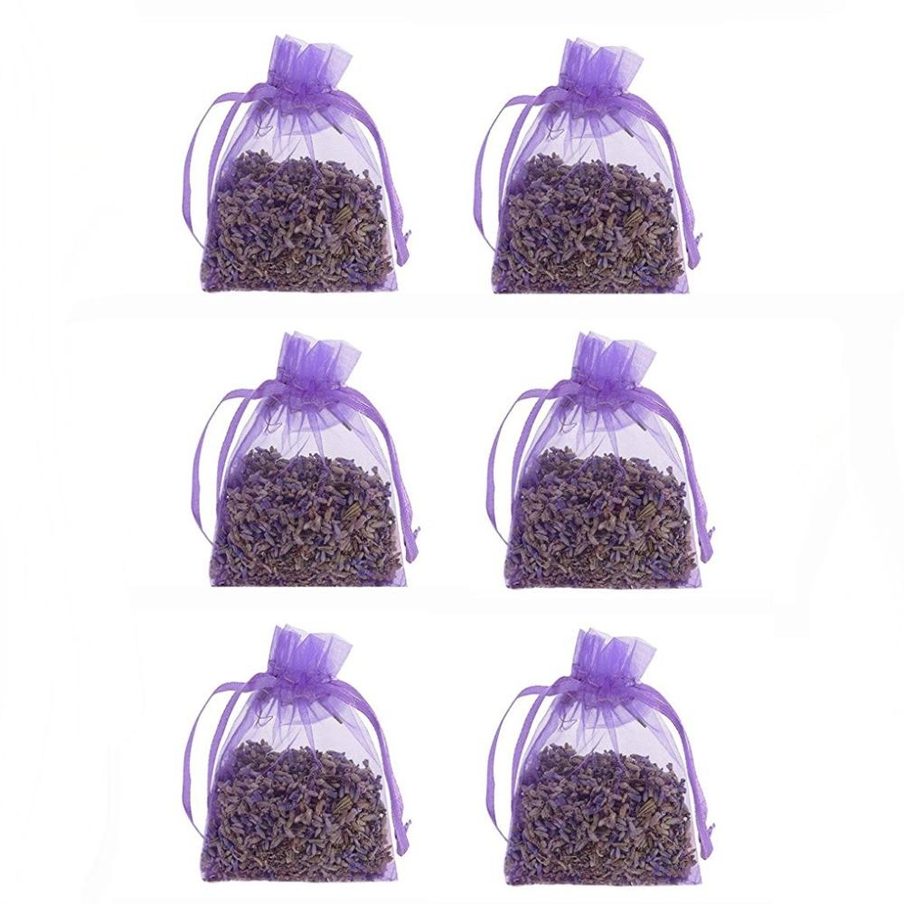 6 pcs Natural Vegetable Grease Resistant Mildew Odor desiccant sachets natural aromatherapy sachets font b car