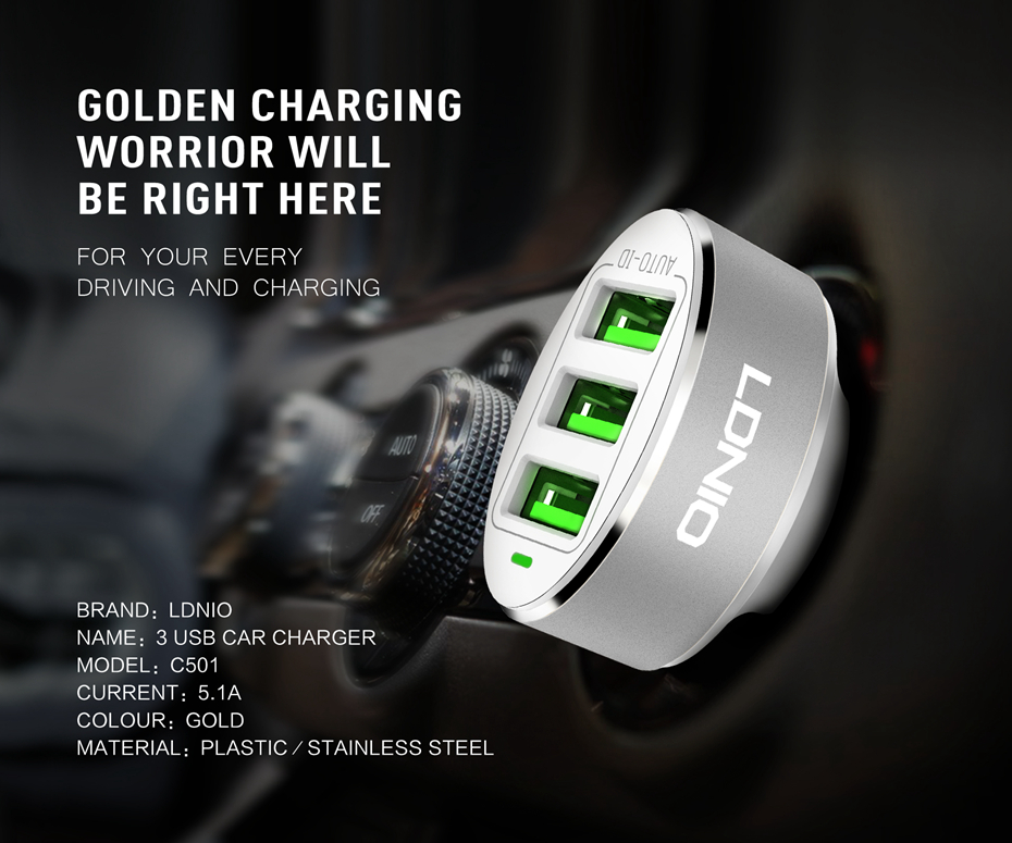 LDNIO CAR CHARGER (3)