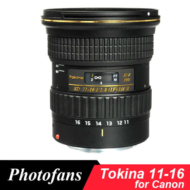 Tokina 11 16mm F/2 8 ATX 11 16 Pro DX II Lens for Canon 600D