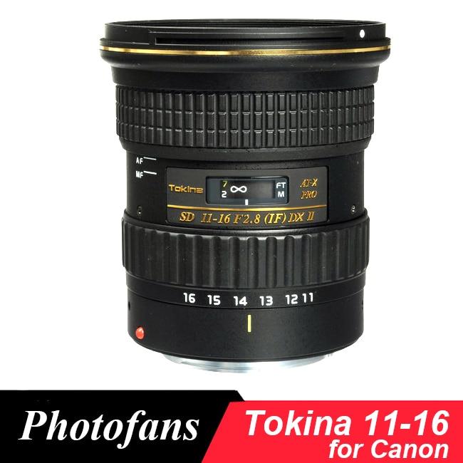 Tokina 11-16mm F/2,8 ATX 11-16 Pro DX II Objektiv für Canon 600D 650D 700D 750D 760D 800D 50D 60D 70D 80D 7D