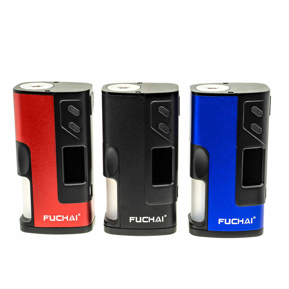 Electronic Cigarette Original Fuchai Squonk 213 150W Box Mod with 0.96 Inch TFT Color Screen fit 20700 18650 battery 510 thread