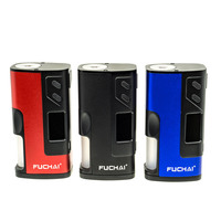 Electronic Cigarette Original Fuchai Squonk 213 150W Box Mod with 0.96 Inch TFT Color Screen fit 20700 18650 battery 510 thread
