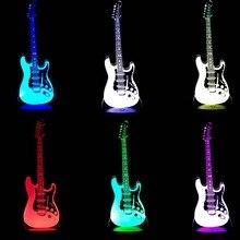 NEW ARRIVAL Music Cool font b Guitar b font font b Bass b font 3D LED
