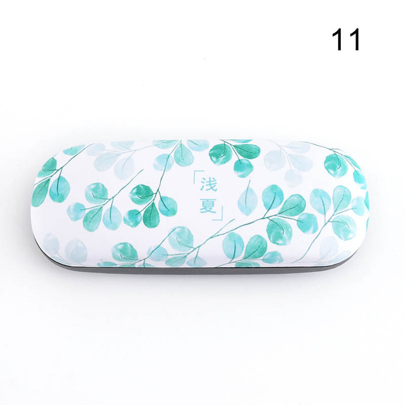 Portable Sunglasses Case Candy Color Letter Fruit Pattern Goggles Glasses Box GDD99