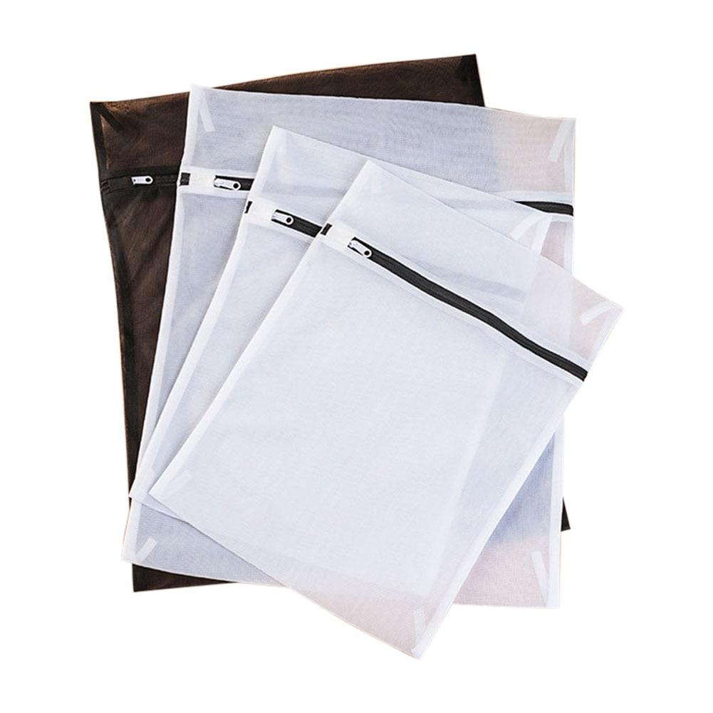 4pcs Set Clothes Laundry Mesh Net Bag Pouch For Washing Machine Bra Underwear HYD88