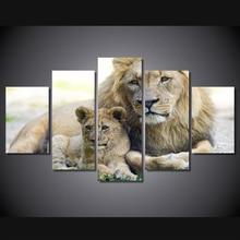 HD Printed lev koshka lvenok kotenok Painting Canvas Print room decor print poster picture canvas Free shipping/ny-4916