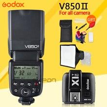 Godox V850II GN60 2.4G Wirless Speedlite + X1 TTL Trigger System w/ Li-ion Battery Flash Light for Canon Nikon Sony DSLR Cameras