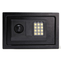 NEW Digital Electronic Safe Box Keypad Lock Wall Security Cash Jewelry Hotel Cabinet Safes