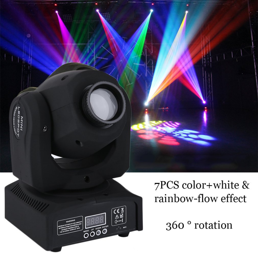 Led Licht Us 117 12 New Mini Rgb Stage Moving Light Led Licht Dj Party Projector Lamp Holiday Party Landscape Light Garden Lamp Outdoor Lighting In Stage