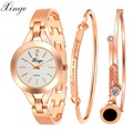 Xinge Brand Watches Women Bracelet Believe In Yourself Waterproof Wristwatches Set Watches For Women Luxury Female Quartz Watch