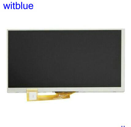 Witblue New LCD Display Matrix For SUPRA M74AG SUPRA M74MG Tablet inner LCD screen panel Module Replacement Free Shipping