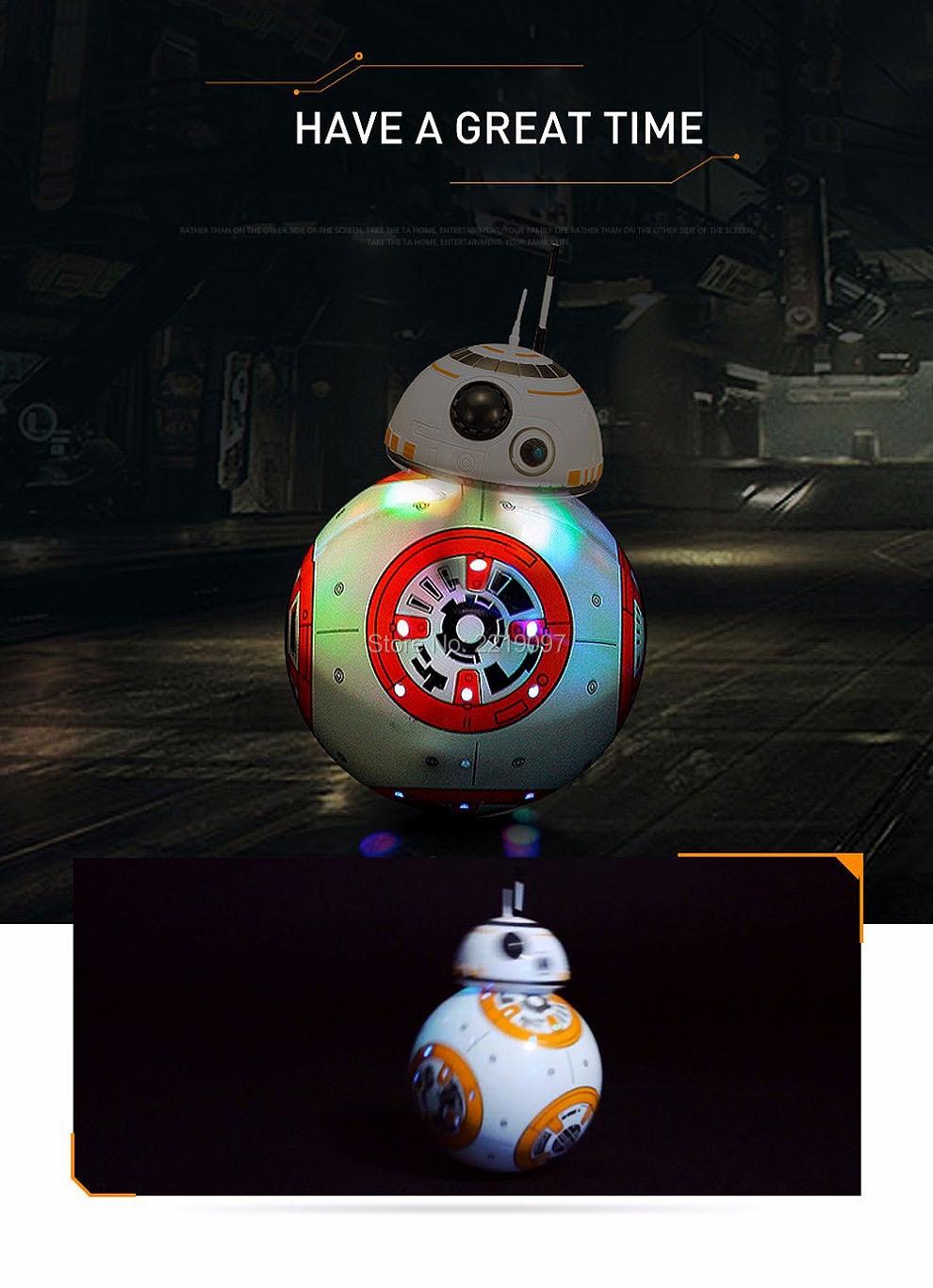 Star Wars Remote Control BB-8 Robot 20.5cm 21