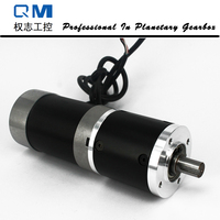 High Reliability Gear Brushless Dc Motor Planetary Gearbox Ratio 20 1 With NEMA 23 120W 24V
