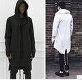 2015 толстовки мужчины / женщины плащ с капюшоном плюс длинные шаль пальто - пальто убийц убийцы куртка уличной сверхразмерные