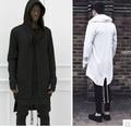 2015 sudaderas con capucha hombres / mujeres con capucha capa más largo chal doble capa asesinos credo capa Streetwear chaqueta de gran tamaño