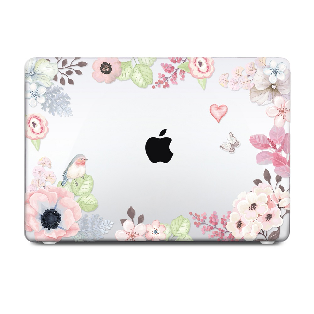 Floral Printing Hard Case for MacBook 105