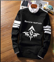 2017 New Clothing Anime TouHou Project Remilia Pullover Hoodie joint White collar sleeve Cotton Jacket Cosplay Coat