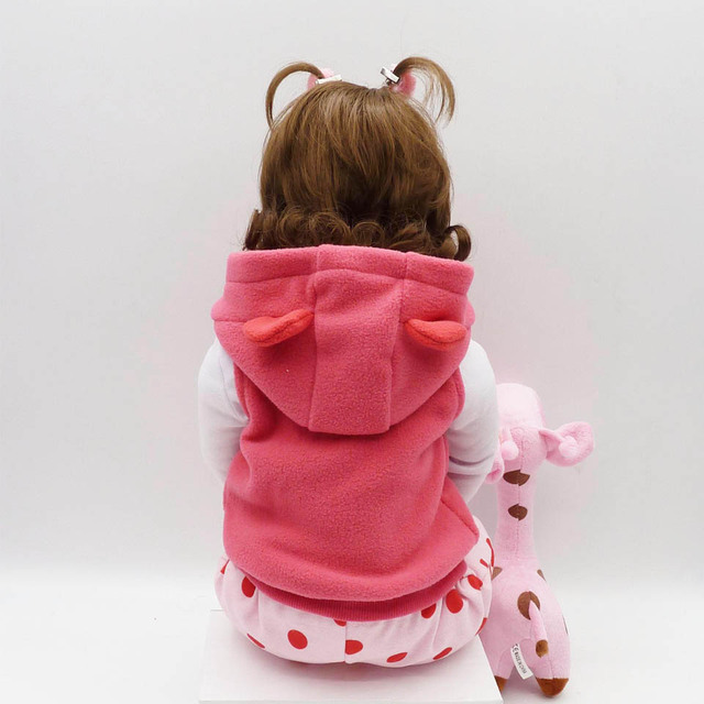 Realistic Soft Silicone Baby Doll for Kids (2 Eyes Colors)