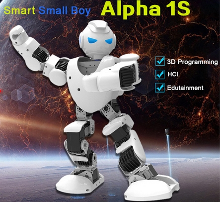 Alpha 1s UBTech Humanoid 1S Robot Intelligent Life Companion Educational 1S Model