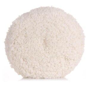 Image 2 - Kit de pulido de lana de coche auténtica, 3M, 05711, 22,8 cm, esponja para lavado de coche, almohadilla de limpieza, amortiguador, capó de fieltro, pulido automotriz