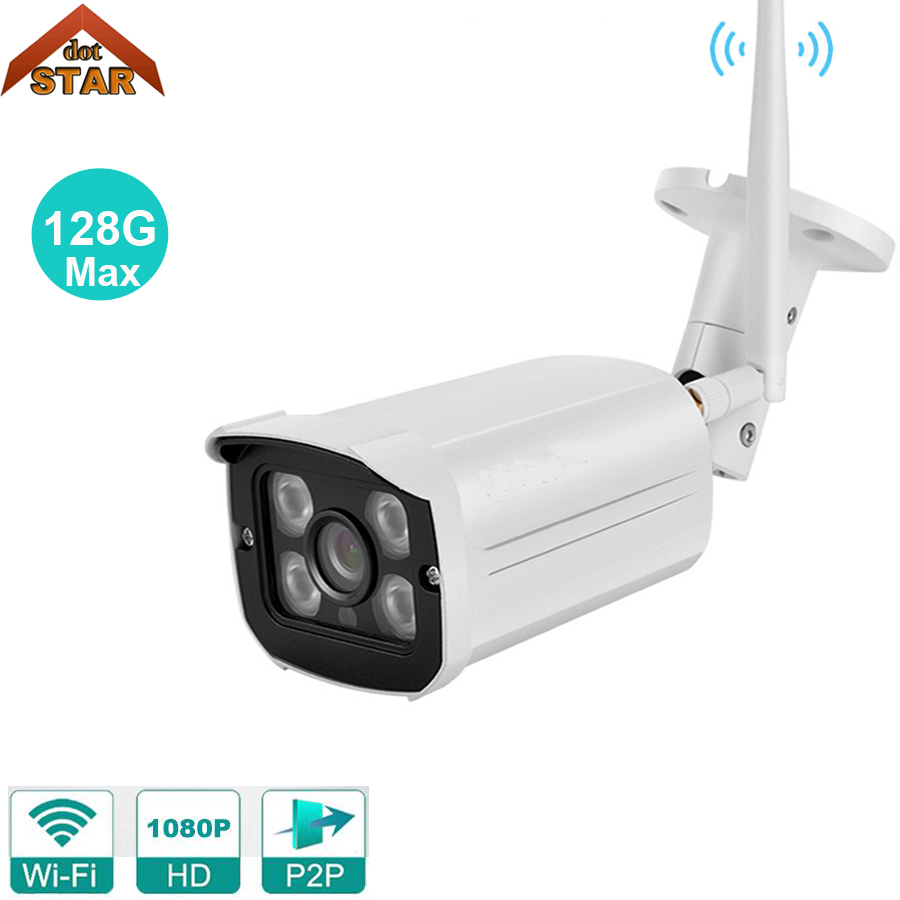 Stardot Wifi IP Camera Waterproof 1080p cctv outdoor ip surveillance cameras Outdoor Support 128G Memory Card hd Wireless Camera wistino 1080p 960p wifi bullet ip camera yoosee outdoor street waterproof cctv wireless network surverillance support onvif