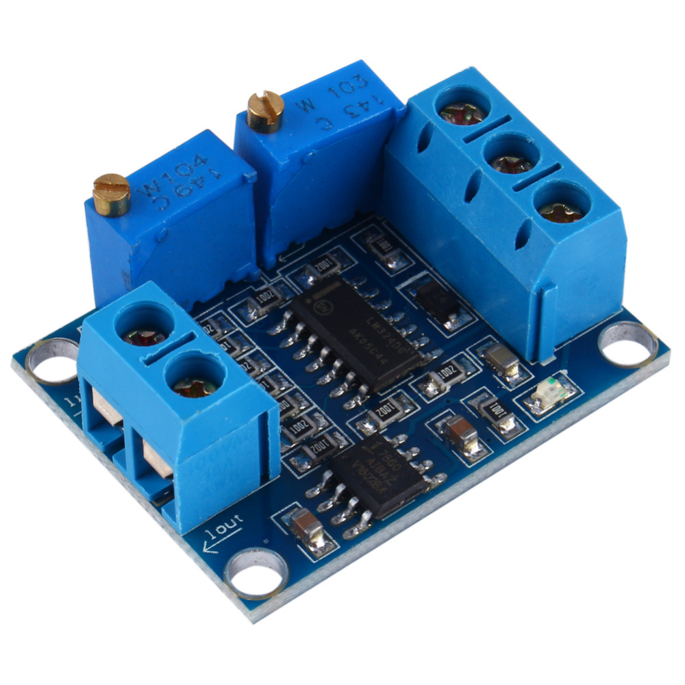 Professional 0-3.3/5/10/15V to 4-20mA Current to Voltage Module Signal Condition