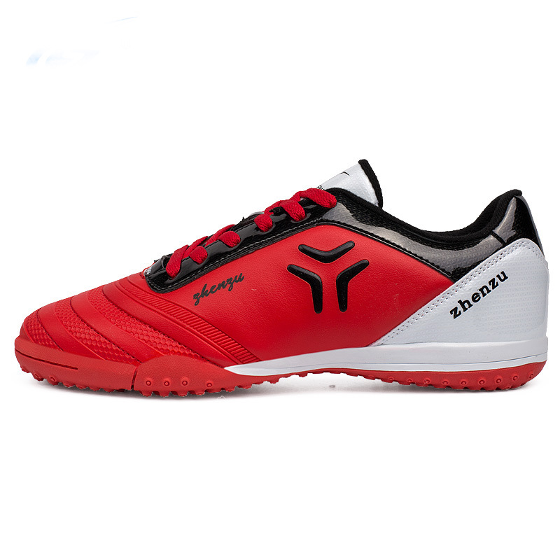 ONEDOYEE New Children Football Training Shoes Kids Sneakers High Quality PU Boys Sport Shoes Non-slip Rubber Soccer Shoes kelme 2016 new children sport running shoes football boots synthetic leather broken nail kids skid wearable shoes breathable 49