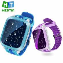 IP67 Kids Niños Seguridad Perdida Anti GPS Tracker reloj inteligente DS18 Impermeable Niños SOS de Emergencia Para El Iphone y Android PK Q50 Q90