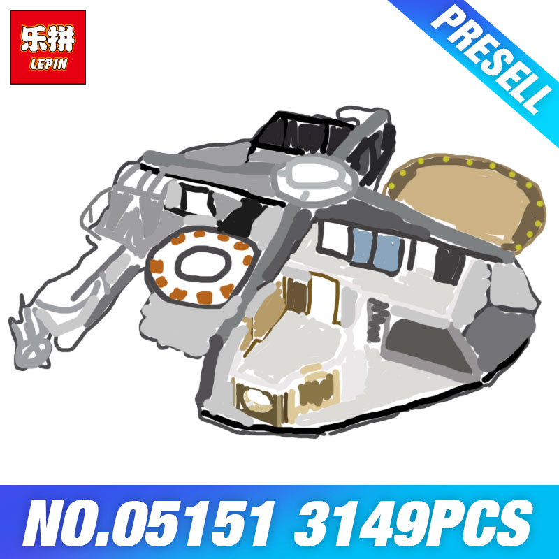 DHL Lepin 05151 Star Plan Cloud City 75922 Toys for Chilren Wars Model Building set Blocks Bricks Kits Kids DIY Christmas Gifts