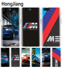 HongJiang luxury bmw M3 photo print cover phone case for Oneplus one plus 5T 5 3 3t 2 X A3000 A5000
