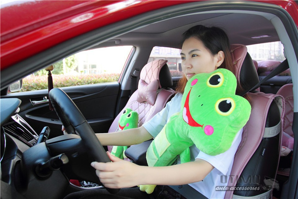 2Free Shipping Baby Auto Pillow Car Safety Belt Protect Shoulder Pad Adjust Automobile Vehicle Seat Belt Cushion for Kids Child