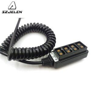 Image 5 - Rolux 1 Maschio Power Tap P Tap D Tap per 4 Port Femmina D Tap Hub Adapter 45 CENTIMETRI ~ 200 CENTIMETRI