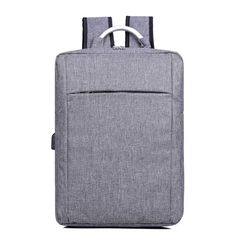 Unisex External USB Charging Casual Backpack Ladies Canvas Backpacks for Men Laptop School Bags Teenagers