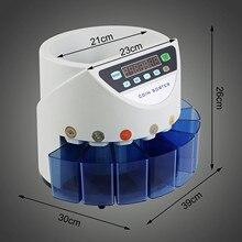Счетчик монет Великобритания автоматическая электронная машина для подсчета монет 270 монет/минут