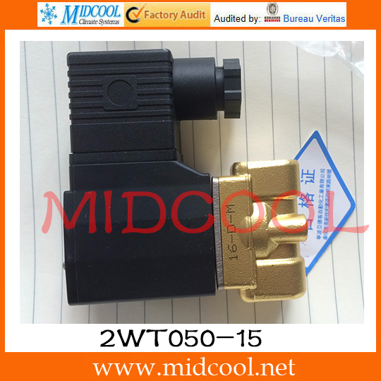 Original AirTAC Fluid control valve (2/2way) 2W Series (Direct-acting and normally closed) 2WT050-15
